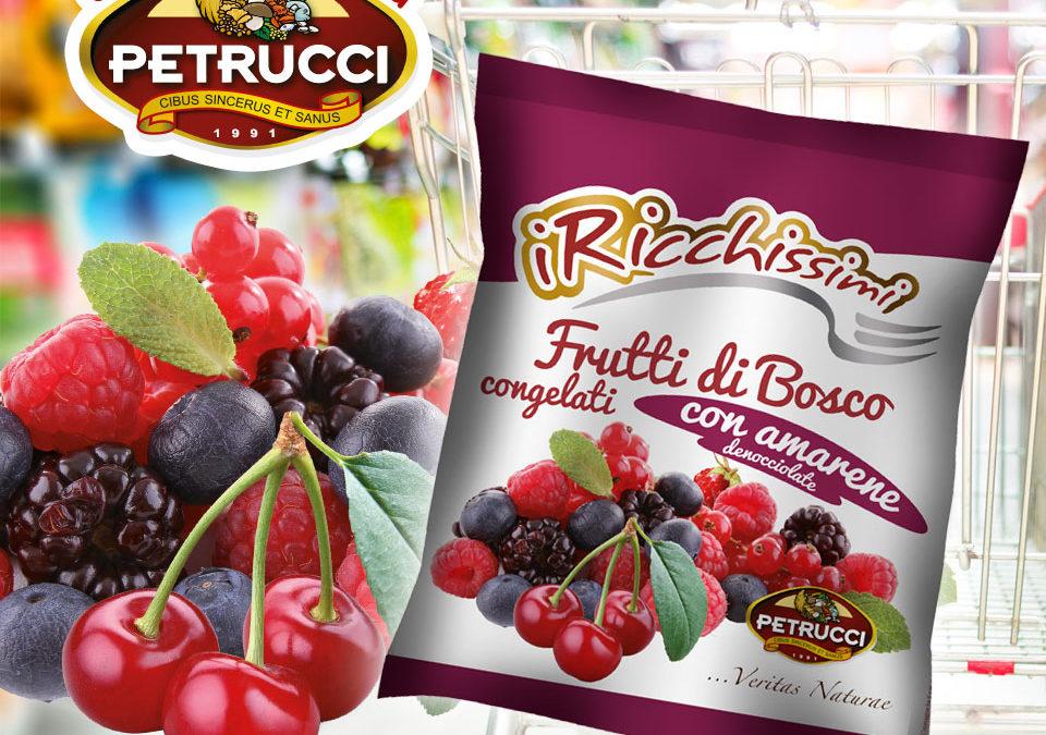 frutti di bosco con amarene denocciolate Petrucci