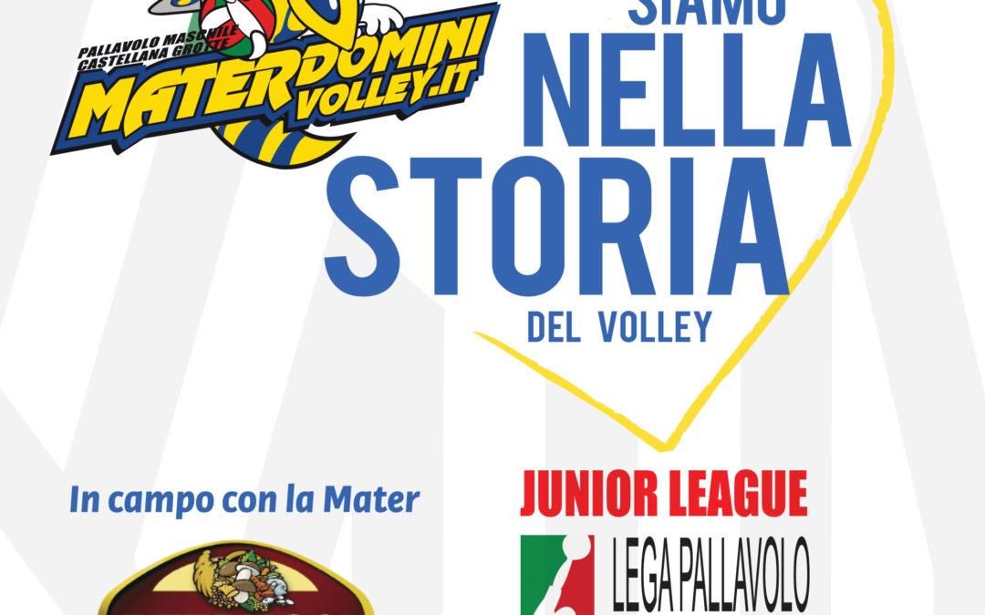 Monte Junior League 2018, sogno Mater: ecco lo scudetto!