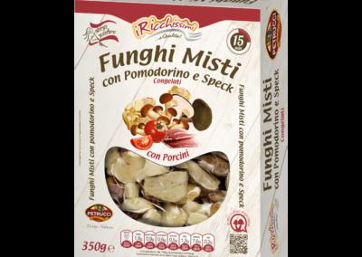 Funghi Misti con Porcini, Pomodorino e Speck
