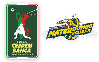 Si ferma la Materdomini per lo stop della Serie A2