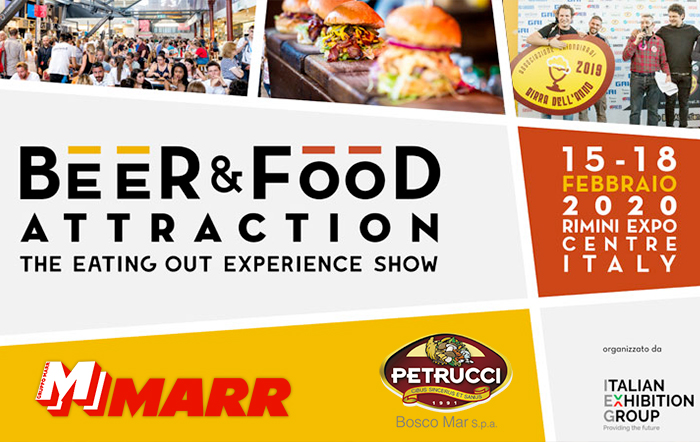 "Bosco Mar all'evento MARR in ""Beer & Food Attraction"""