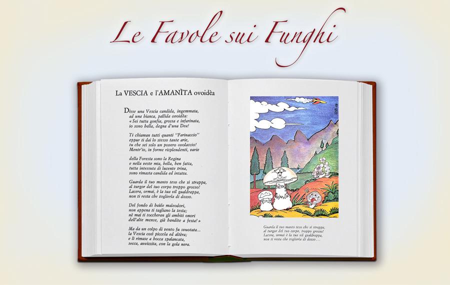 Favola-3-la-vescia-e-l-amanita-ovoidea-copertina-