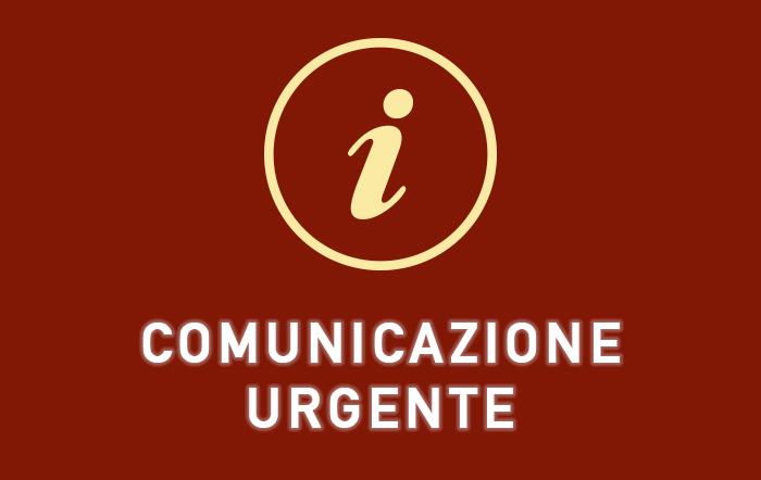 Comunicazione del 7 Marzo 2021