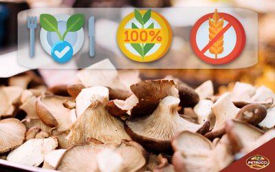 I funghi sono adatti ad una dieta Vegan/Gluten Free/Organic?