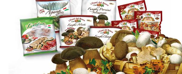 Prodotti Petrucci | Funghi congelati