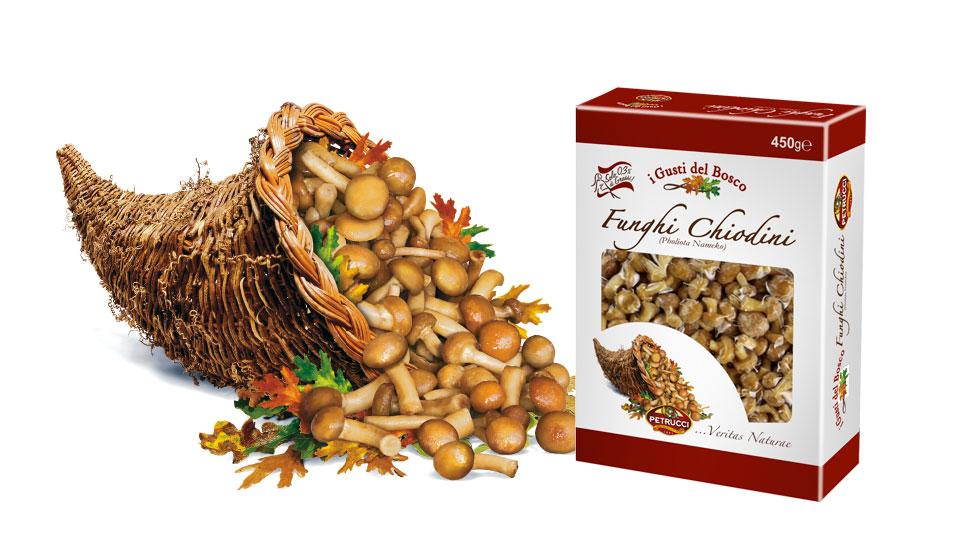 Funghi Chiodini I Gusti del Bosco Petrucci